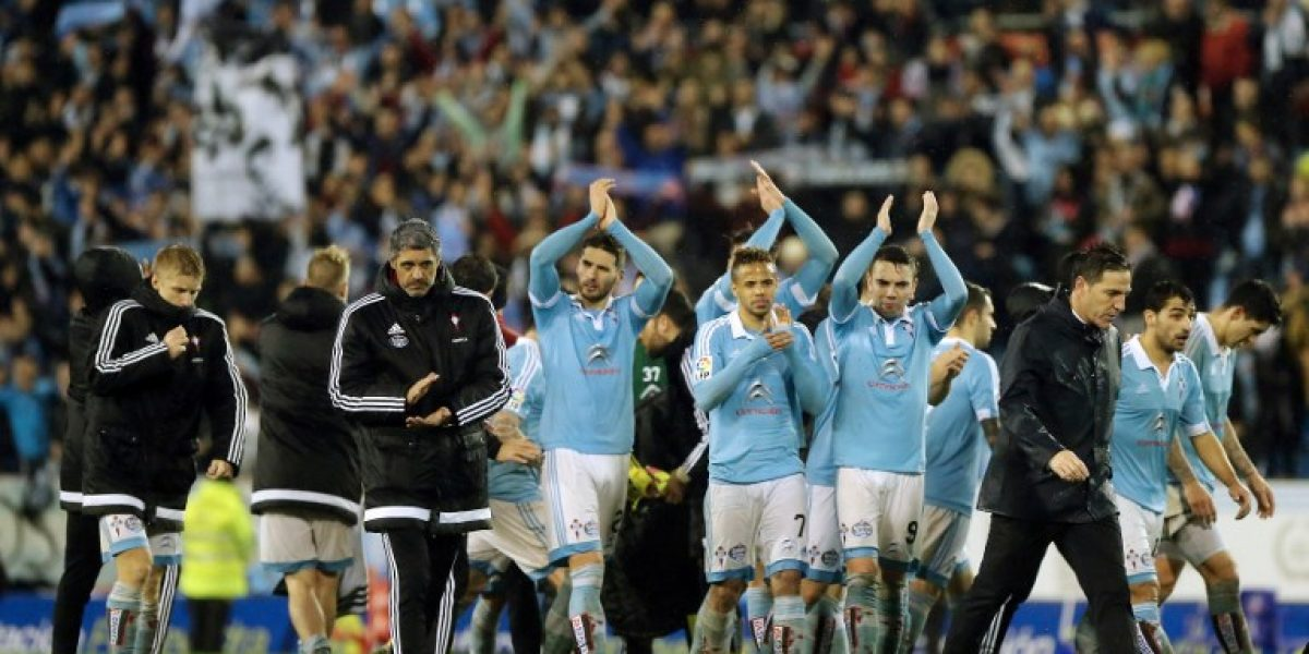 Los chilenos de Celta de Vigo se quedaron sin final en la Copa del Rey