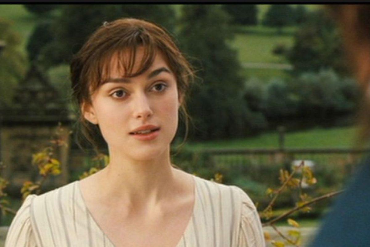 "Keira Knightley era ""Elizabeth Bennett"". Foto:vía StudioCanal. Imagen Por:"