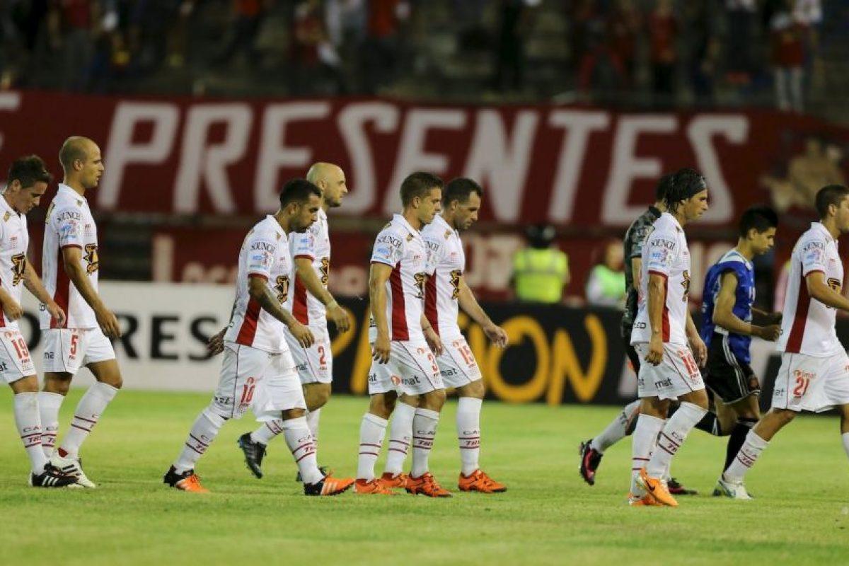 """El """"Globo"""" cayó 2-1 con Caracas Foto:AP. Imagen Por:"""