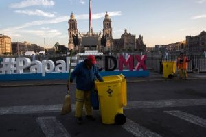 México se prepara para la visita del Papa Foto:AFP. Imagen Por: