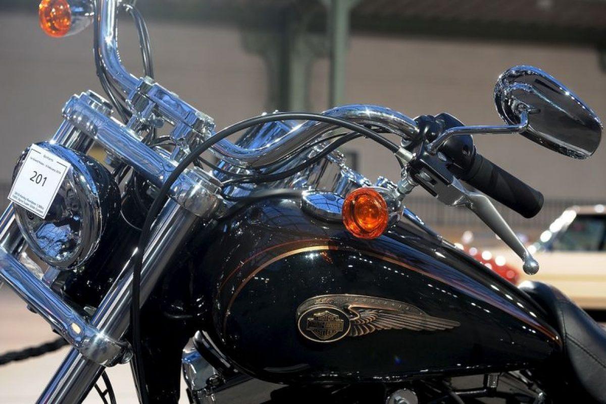 Motocicleta firmada por el Papa Francisco Foto:Getty Images. Imagen Por: