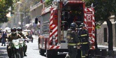 Amago de incendio afectó a dependencias del Banco Central