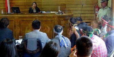 Dos comuneros quedaron en prisión preventiva por robo de madera en Tirúa