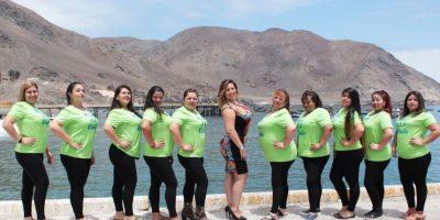 """Taltal: estas son las 12 candidatas que buscan convertirse en """"Miss XL"""""""