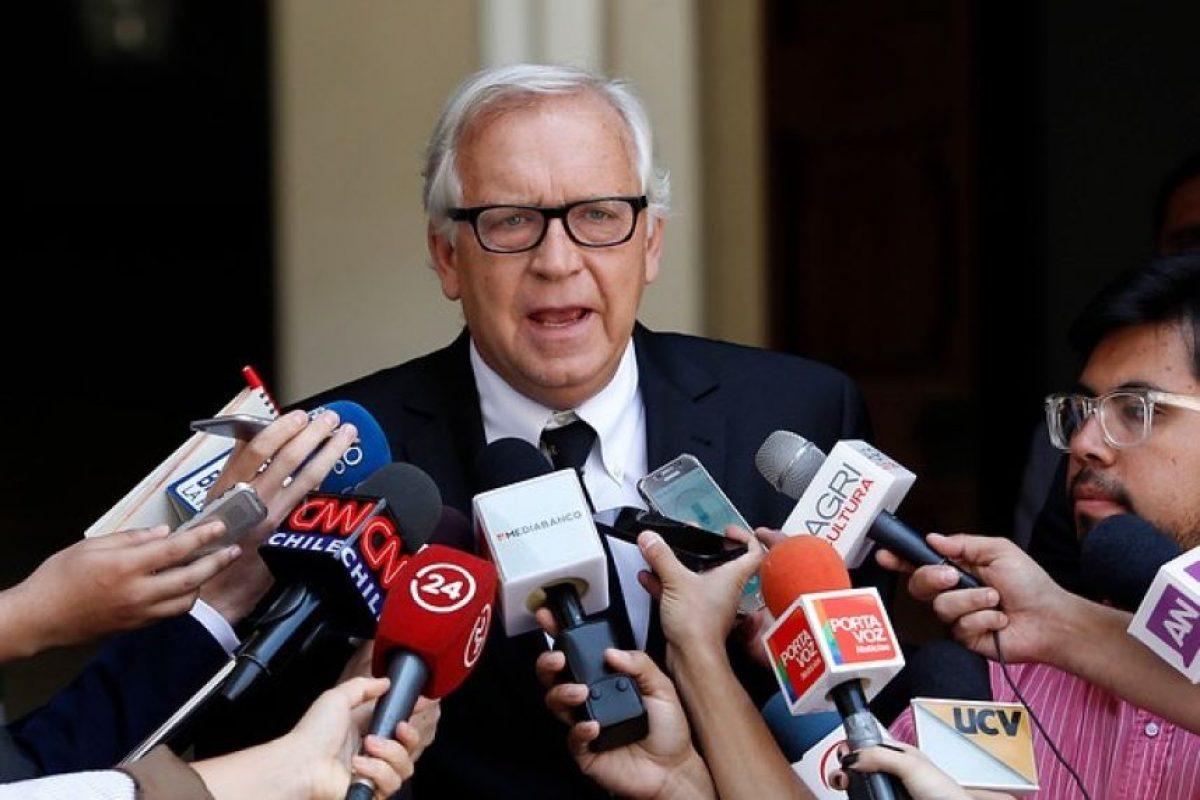 Ministro Jorge Burgos Foto:Aton Chile. Imagen Por:
