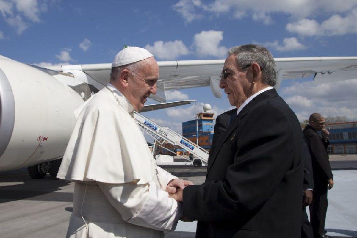 Antes de llegar a México hizo una escala en Cuba Foto:AP. Imagen Por: