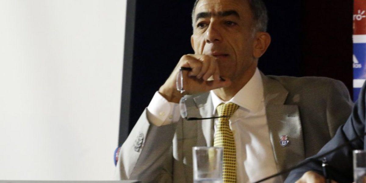 Sabino Aguad confiesa que Pablo Guede era uno de los candidatos para asumir la banca de la U