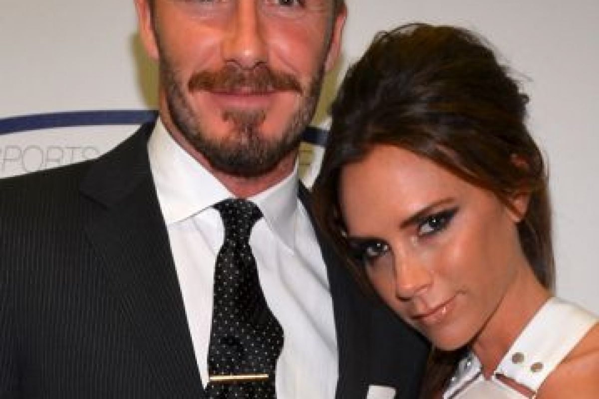Victoria y David Beckham Foto:Getty Images. Imagen Por: