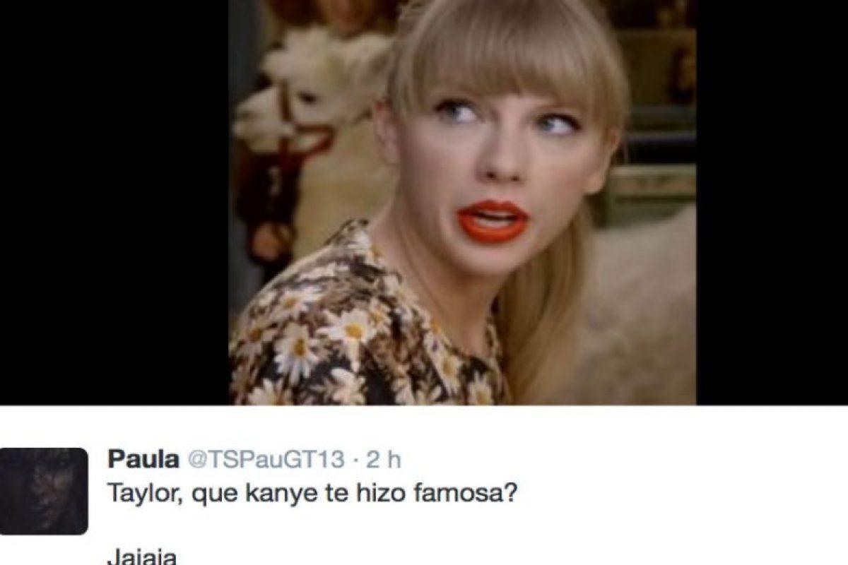 Los fans de Swift enfurecieron. Foto:vía Twitter. Imagen Por: