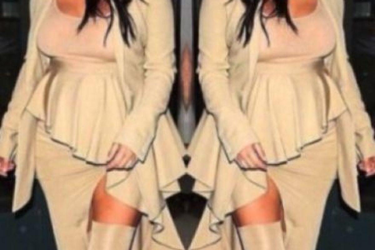 Así cambió el cuerpo de Kim Kardashian durante su último embarazo Foto:Vía Instagram/@kimkardashian. Imagen Por: