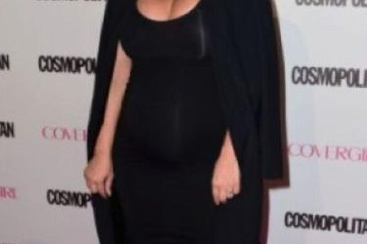 Así cambió el cuerpo de Kim Kardashian durante su último embarazo Foto:Getty Images. Imagen Por: