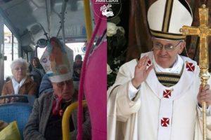 El Papa. Foto:vía Facebook/ Parecidos de Bondis. Imagen Por: