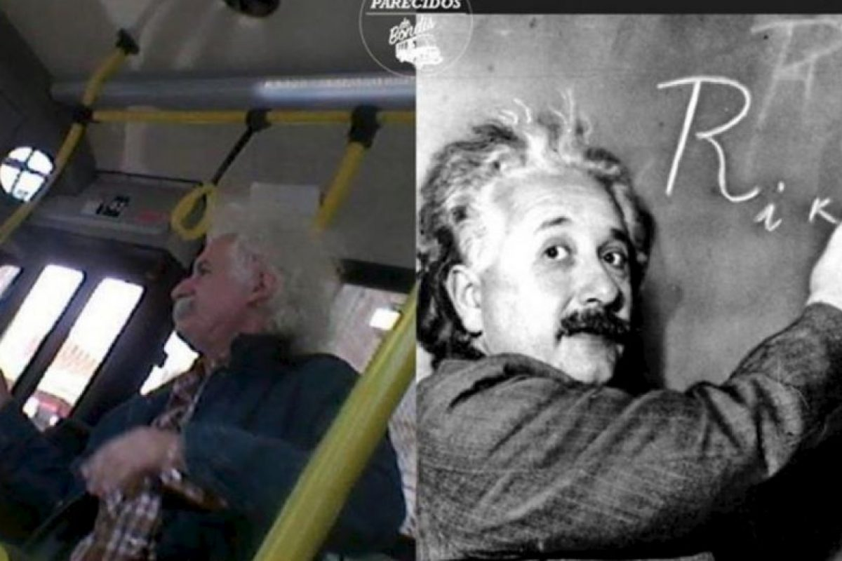 Einstein. Foto:vía Facebook/ Parecidos de Bondis. Imagen Por: