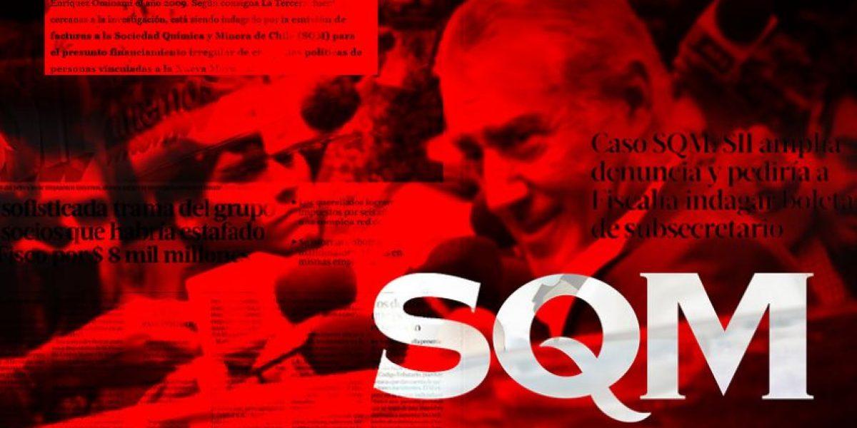 SQM: Fiscal recibe 3,5 millones de mails y 92 mil documentos relevantes a la investigación