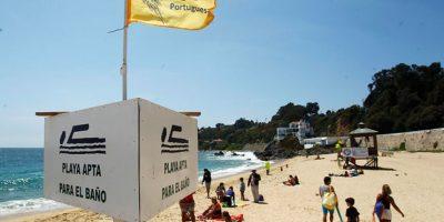 Las playas de la V Región con prohibición de bañarse por la fragata portuguesa