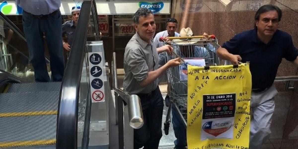 Anuncian nuevo llamado de protesta contra colusión de supermercados