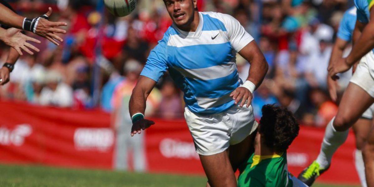 Argentina vapuleó a Chile y asume la punta del Americas Rugby Championship