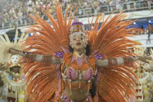 Así se vivió la temporada de carnavales en Brasil Foto:Getty Images