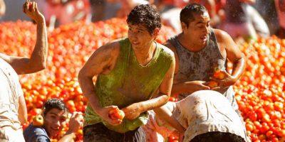 Todo un éxito fue la sexta versión de La Guerra del Tomate en Quillón