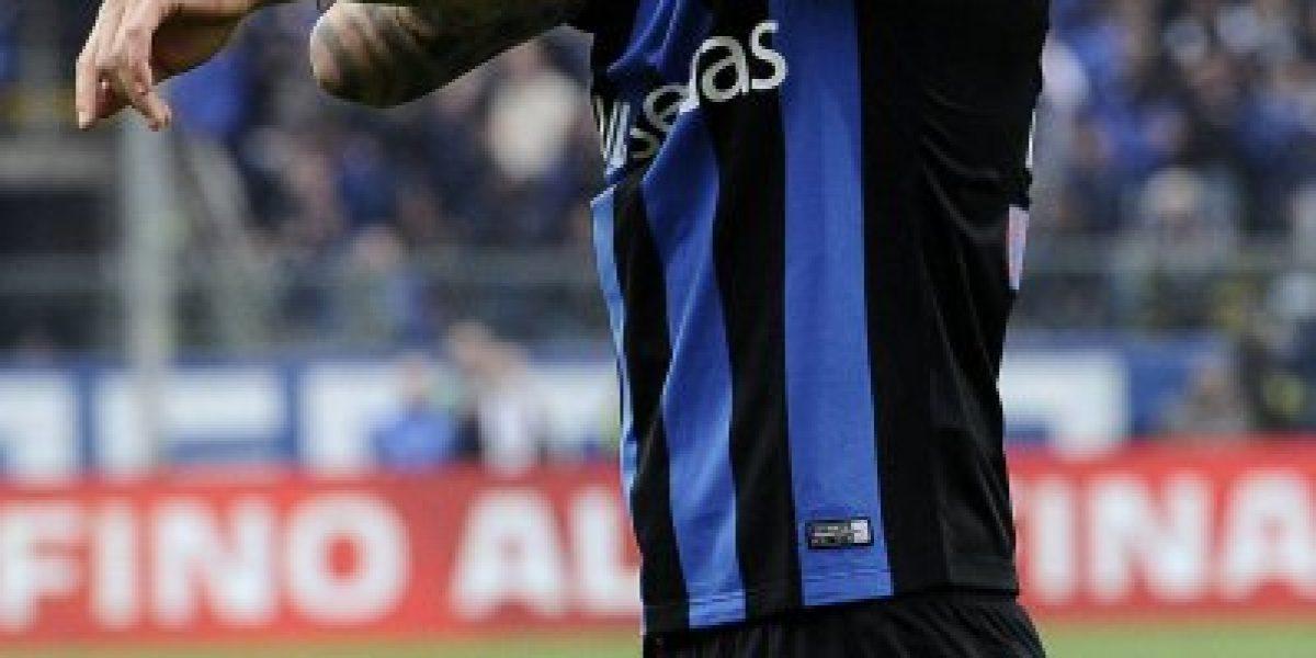 ¿Será convocado por Pizzi? Mauricio Pinilla fue titular en igualdad de Atalanta