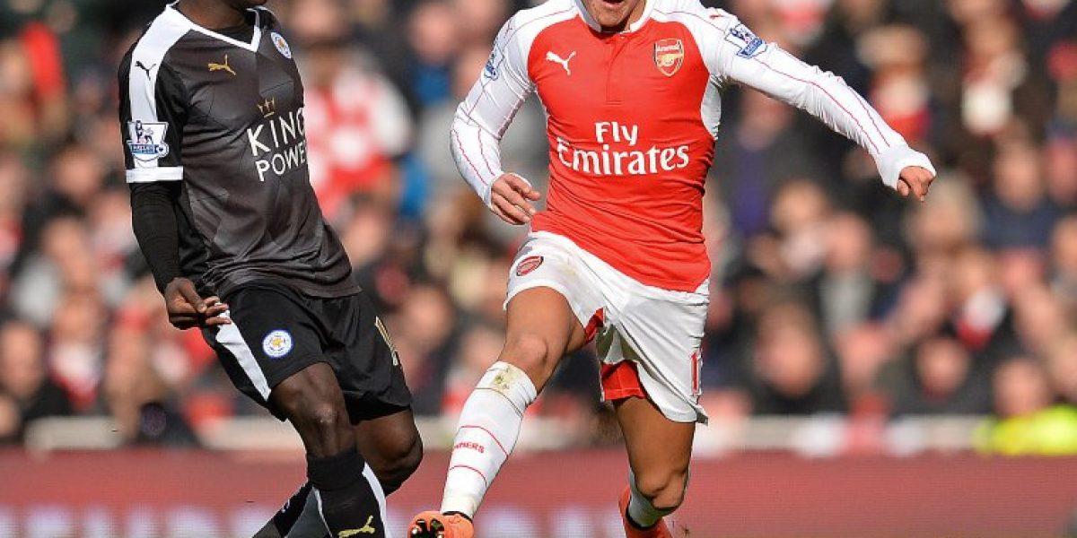 Alexis celebró el dramático triunfo de Arsenal con una fotografía en redes sociales