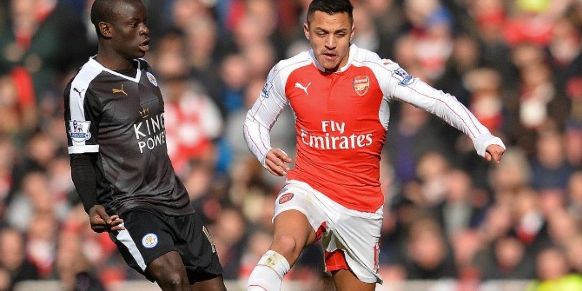 Así vivimos el emocionante triunfo de Arsenal sobre Leicester City con Alexis como protagonista