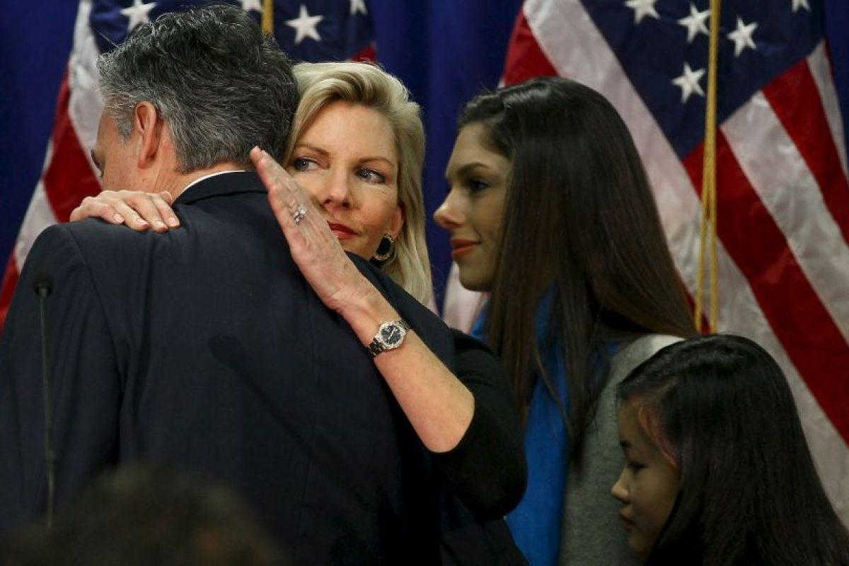 Jon Huntsman y Abby Huntsman Foto:Getty Images