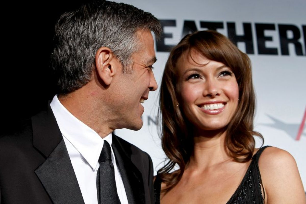 Sarah Larson y George Clooney Foto: Getty Images