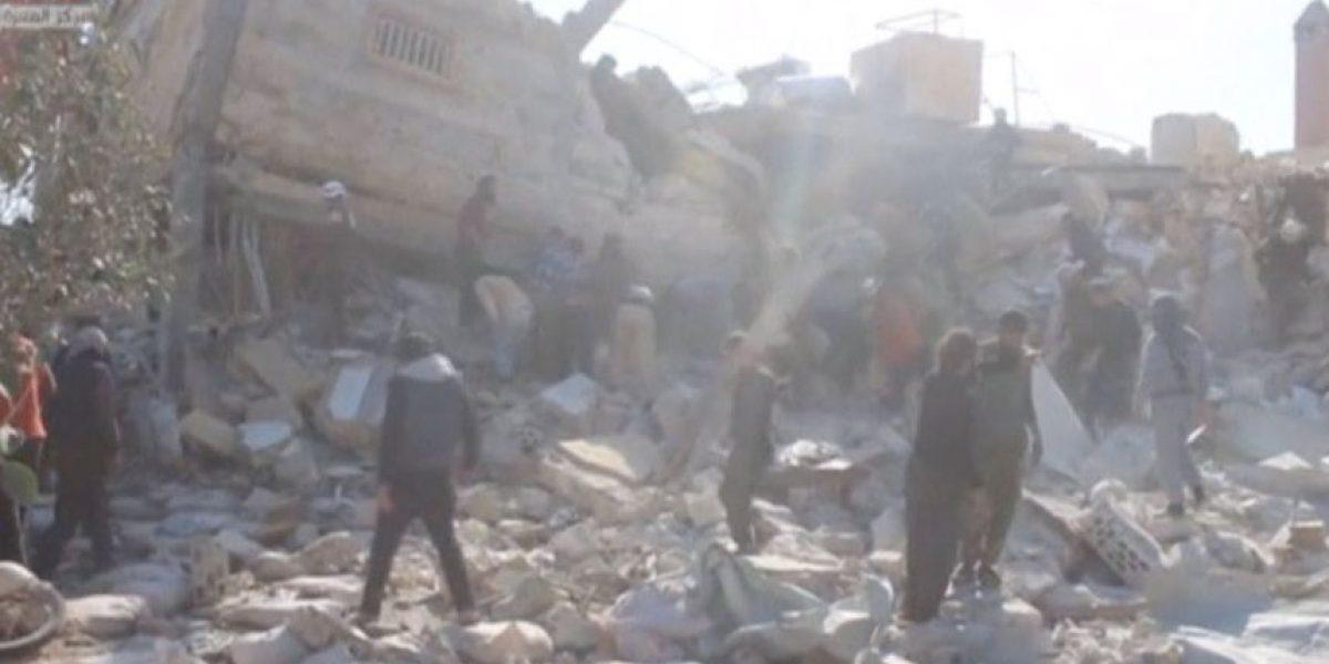 Ataques con misiles golpean dos hospitales en Siria