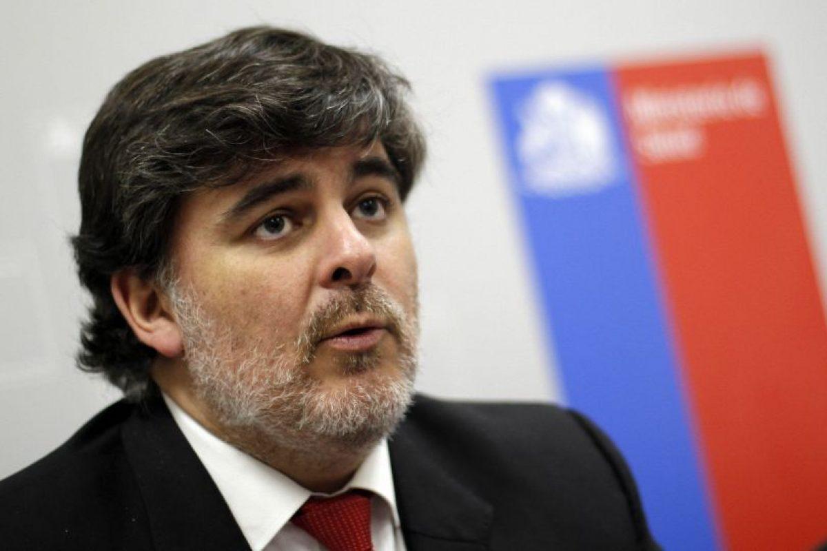 Jaime Burrows, ministro (s) de salud. Foto:Archivo Agencia Uno