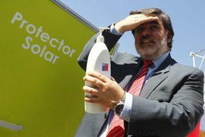 Jaime Burrows, ministro (s) de salud. Foto:Agencia Uno