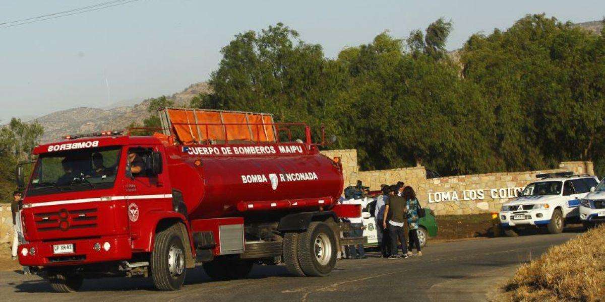 Gobernadora: incendio en relleno sanitario de Tiltil no afectó a comunidades cercanas