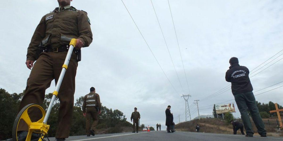 Collipulli: niño de dos años muere tras ser atropellado en plena Ruta 5 Sur