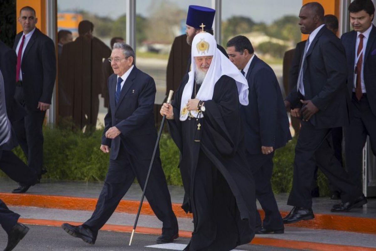 Su partida fue un el 14 de febrero luego que se encontrara con Fidel Castro Foto:AP