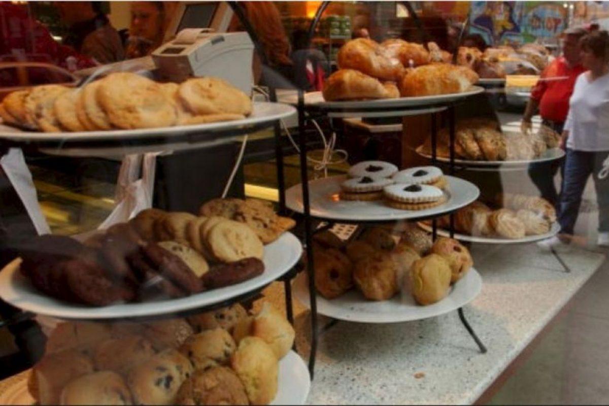 7. Muffins Ellos encabezan la lista de los alimentos para el desayuno más calóricos. ¿Cuál es la razón? Son extremadamente densos y están hechos de harina blanca, aceite o mantequilla, además tienen una gran cantidad de azúcar. Foto:Getty Images
