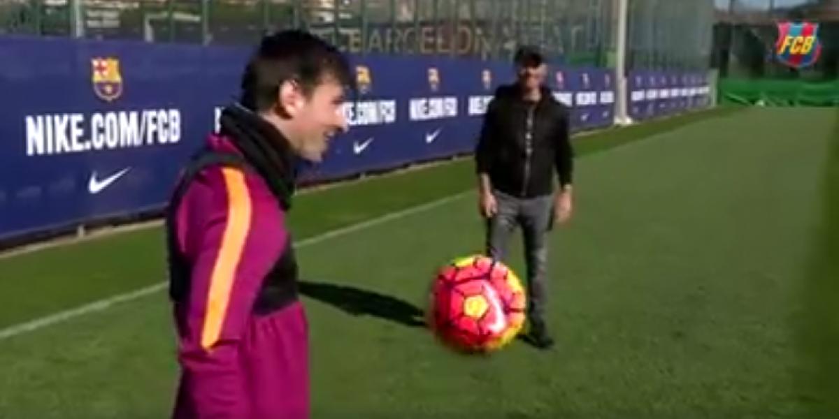 Cosa más bella que tú: Messi dejó loco a Eros Ramazzotti con un