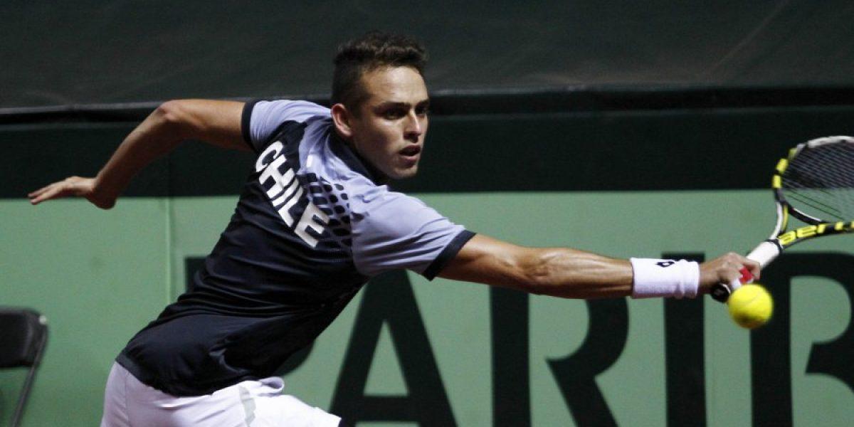 Juan Carlos Sáez fue el principal chileno en avanzar en el ranking ATP