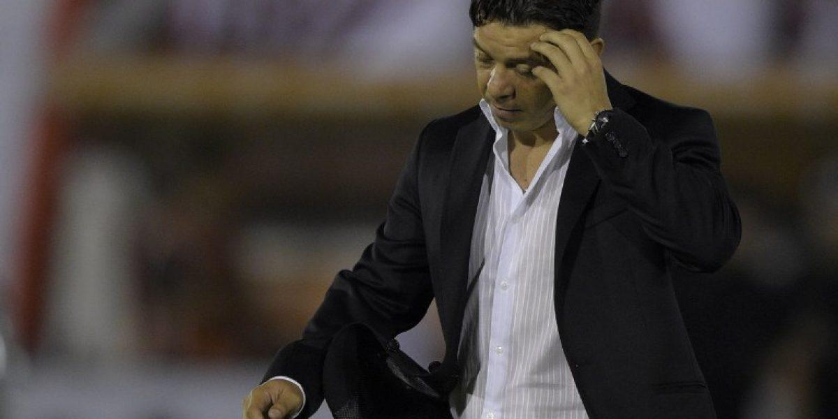 Marcelo Gallardo confirmó que Salas intentó