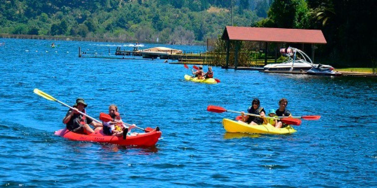 Ruta de lagos chilenos presenta masiva llegada de turistas