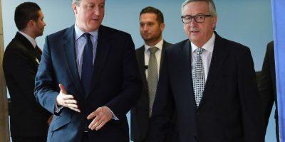 Juncker excluye una salida de Gran Bretaña de la UE antes de recibir a Cameron