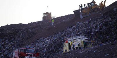 """Alcalde de Tiltil: incendio en relleno sanitario """"Loma los Colorados"""" está sofocado"""