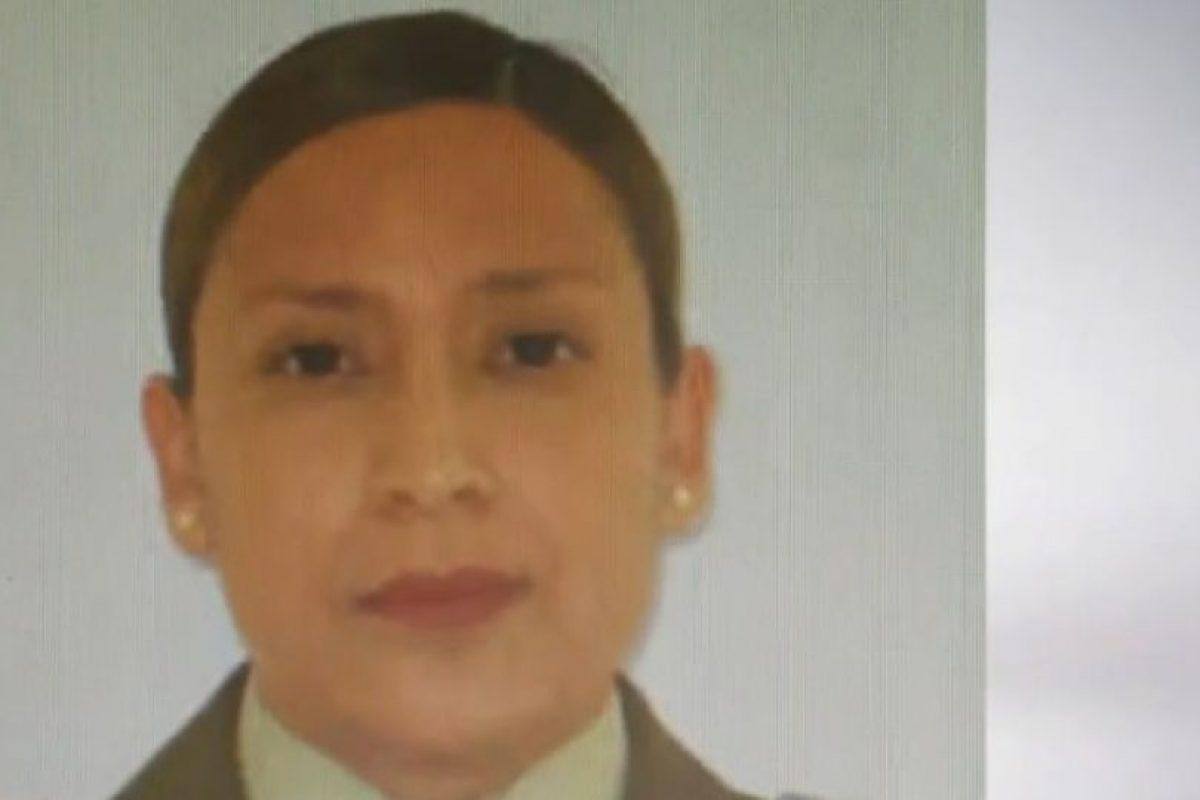 La oficial de Carabineros cuestionada. Foto:Reproducción / 24 Horas. Imagen Por: