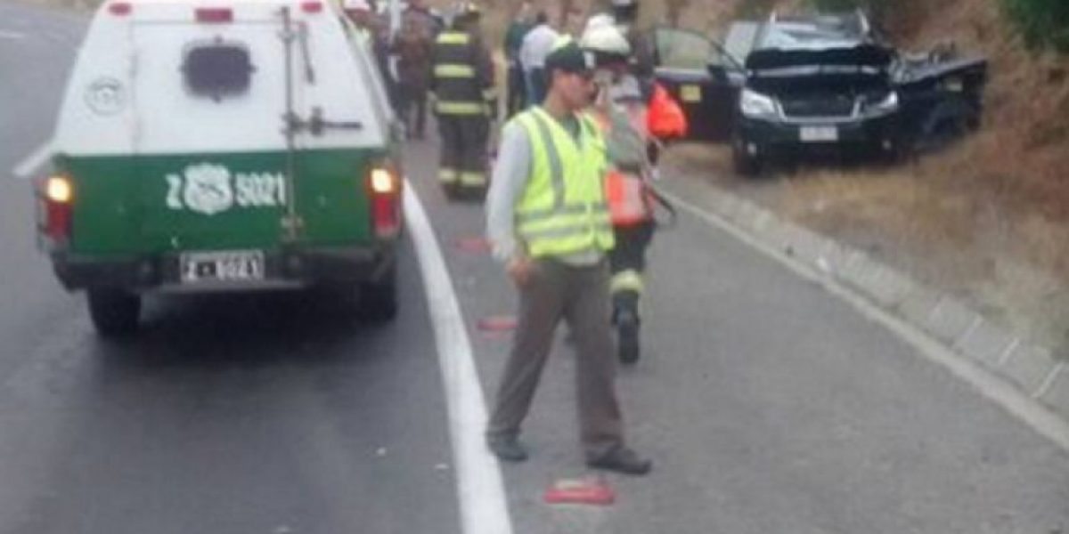 Camino La Pólvora: una mujer perdió la vida tras volcar su camioneta