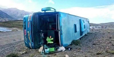 Fuertes vientos en Torres del Paine volcaron un bus: hay al menos 11 heridos