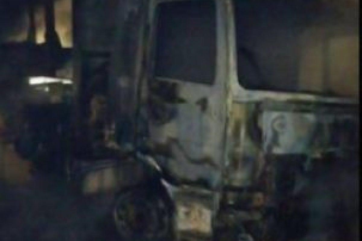 Archivo, atentados en Lumaco Foto:Captura Twitter. Imagen Por: