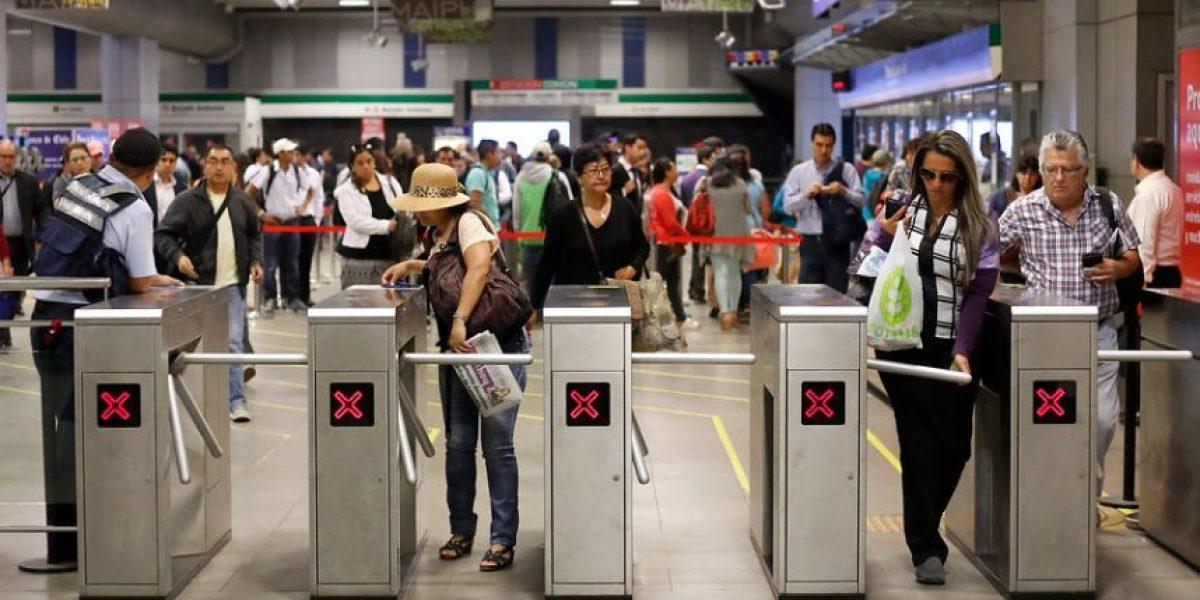 Metro de Santiago se convierte en el más caro de Latinoamérica: no descartan nuevas alzas