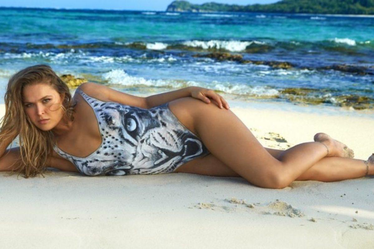 Ronda Rousey. Foto:Vía Sports Illustrated. Imagen Por: