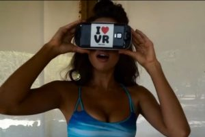 Ahora pueden admirar la belleza femenina en realidad virtual. Foto:Vía Sports Illustrated. Imagen Por: