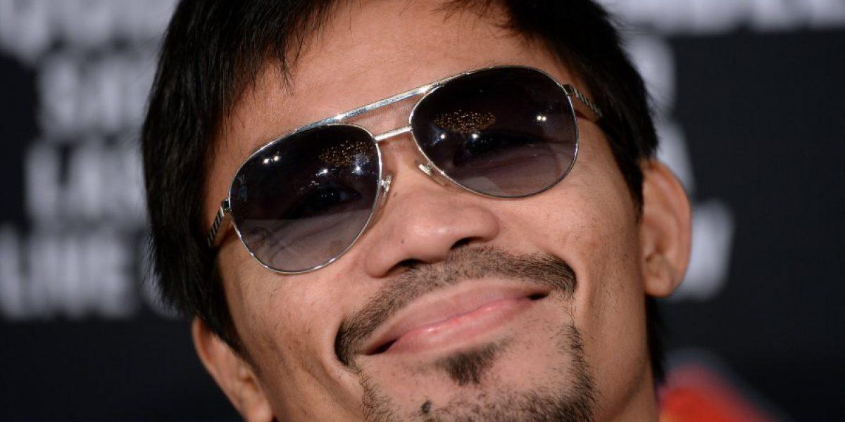 Manny Pacquiao se disculpó por comparar a homosexuales con animales