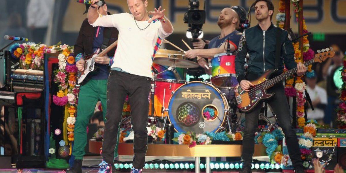 Coldplay encabeza el cartel del festival de Glastonbury